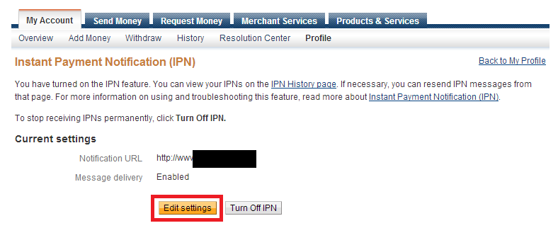 update-paypal-ipn-edit-settings